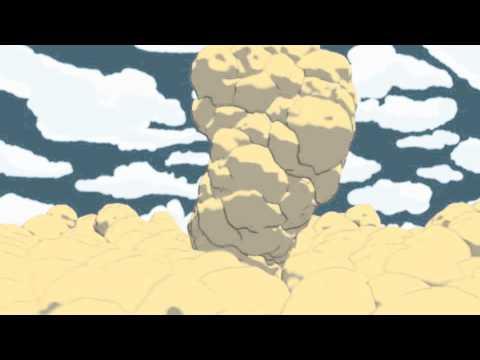 Cell shaded smoke (or toon smoke) : Maxon Cinema 4D