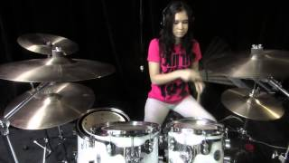 Heart's All Gone - Blink 182 - HD Drum Cover by Devikah - DCFeedback4U