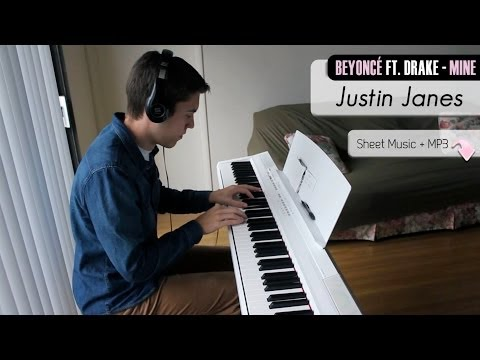 Beyonce Ft. Drake - Mine [Piano Cover + Sheet Music]