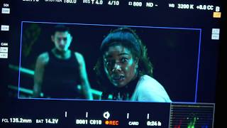Breaking In Behind the scenes clips Billy Burke, Gabrielle Union