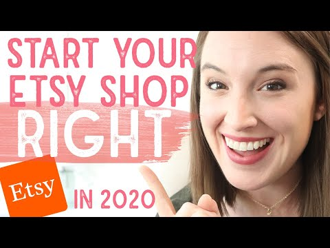 STARTING AN ETSY SHOP   6 Figure Etsy Seller Explains HOW TO START AN ETSY SHOP