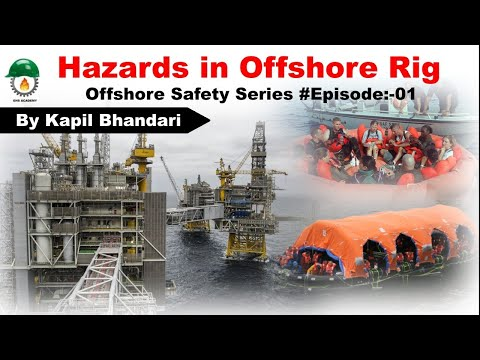Hazards in Offshore Drilling  Rig | Offshore Safety Series  | Marine Vessels | Technical Safety 🔥🔥🔥