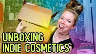 Opening Indie COSMETICS Mystery Boxes!- Fast Food & Candy Themed Makeup