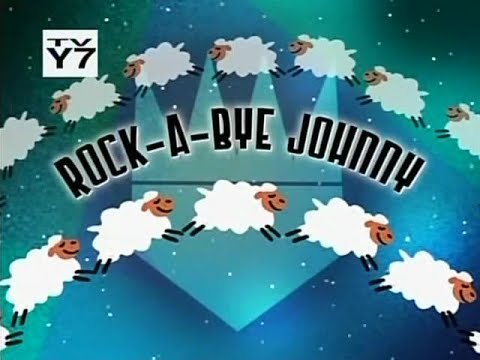 Johnny test,  rock a bye johnny ( HD) Classic Rarely shown!