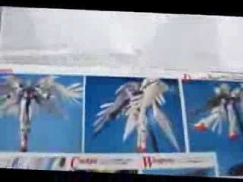Gundam Wing 0 unboxing 12/13 modelkitarmy