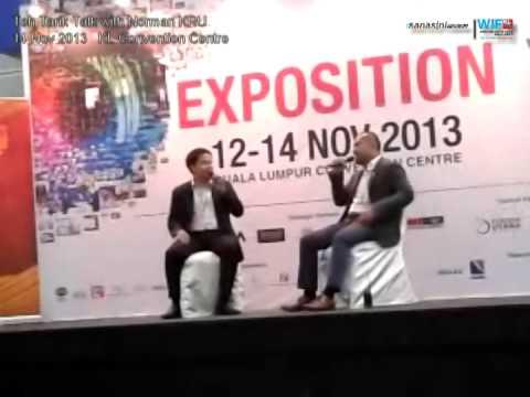 World Innovation Forum #WIF2013 Teh Tarik Talk with Norman KRU