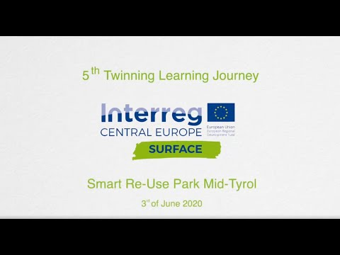 03.06.2020 Webinar: Twinning Learning Journey – Smart Re-Use Park Mid-Tyrol
