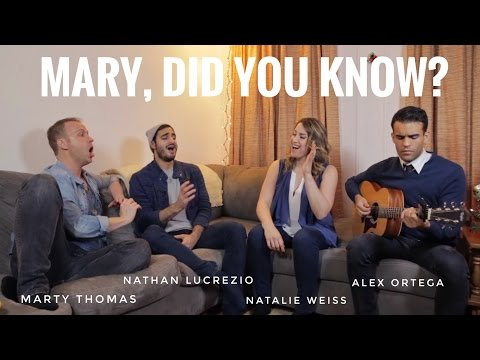 MARY, DID YOU KNOW? FEATURING NATALIE WEISS, NATHAN LUCREZIO, MARTY THOMAS, and ALEX ORTEGA