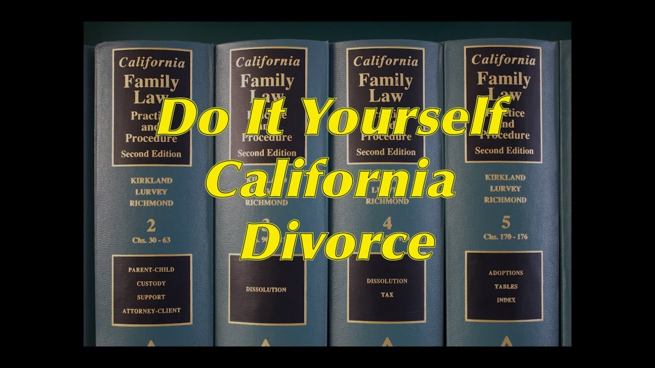Do it yourself california divorce step 1 youtube do it yourself california divorce step 1 solutioingenieria Image collections