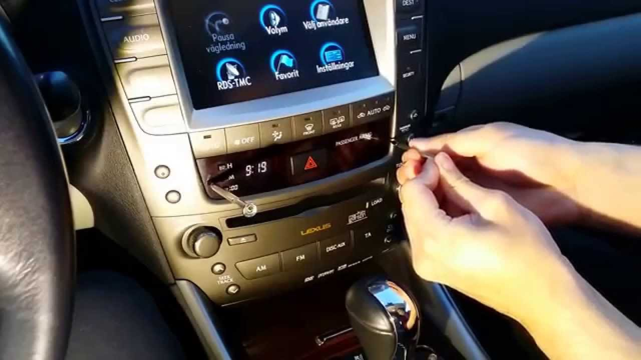 Watch on 2012 lexus es 350 navigation