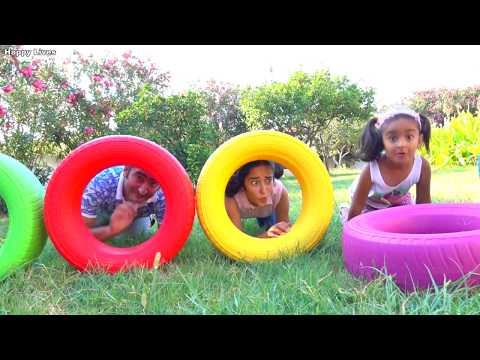 Learn Colors With colored wheel fun play games for kids video