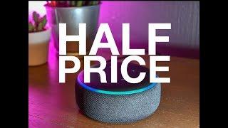 Amazon Echo Dot 3rd Gen HALF PRICE!