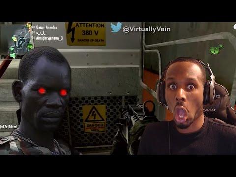 African Drug Lord TERRIFIES people on Black Ops  EP3  REACTION!!!