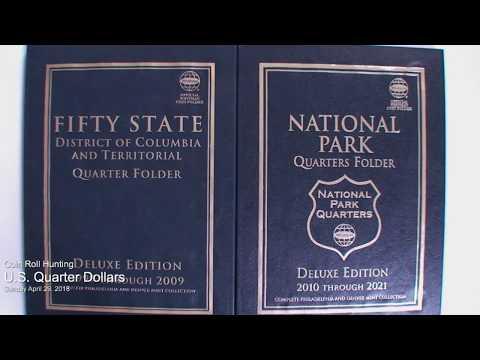 Coin Roll Hunting: U.S. Quarter Dollars