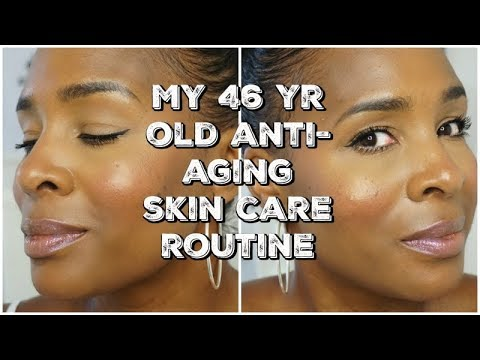 MY OVER 40's ANTI-AGING SKIN CARE ROUTINE | DAY TIME | Mel's World