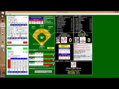 Inside Pitch Baseball IP PC Game 1978 New York Yankees at Texas Rangers