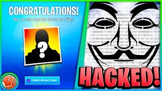 * BREAKING * Fortnite = HACKED!! LOCATION of Discovery Skin!!