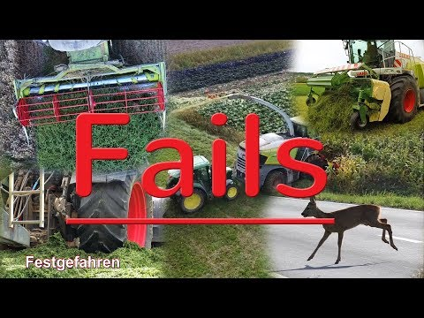 Fails und Outtakes 2018 Landtechnik FHD