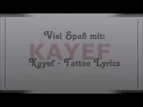 Kayef- Tattoo Lyrics #Offline
