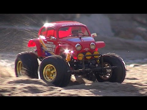 Tamiya MONSTER BEETLE by Matteo's RC Movies on YouTube
