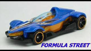 "#2-672 ""Formula Street"" vs ""Oldsmobile 442"" vs ""Hollowback"" Hot Wheels.wmv"