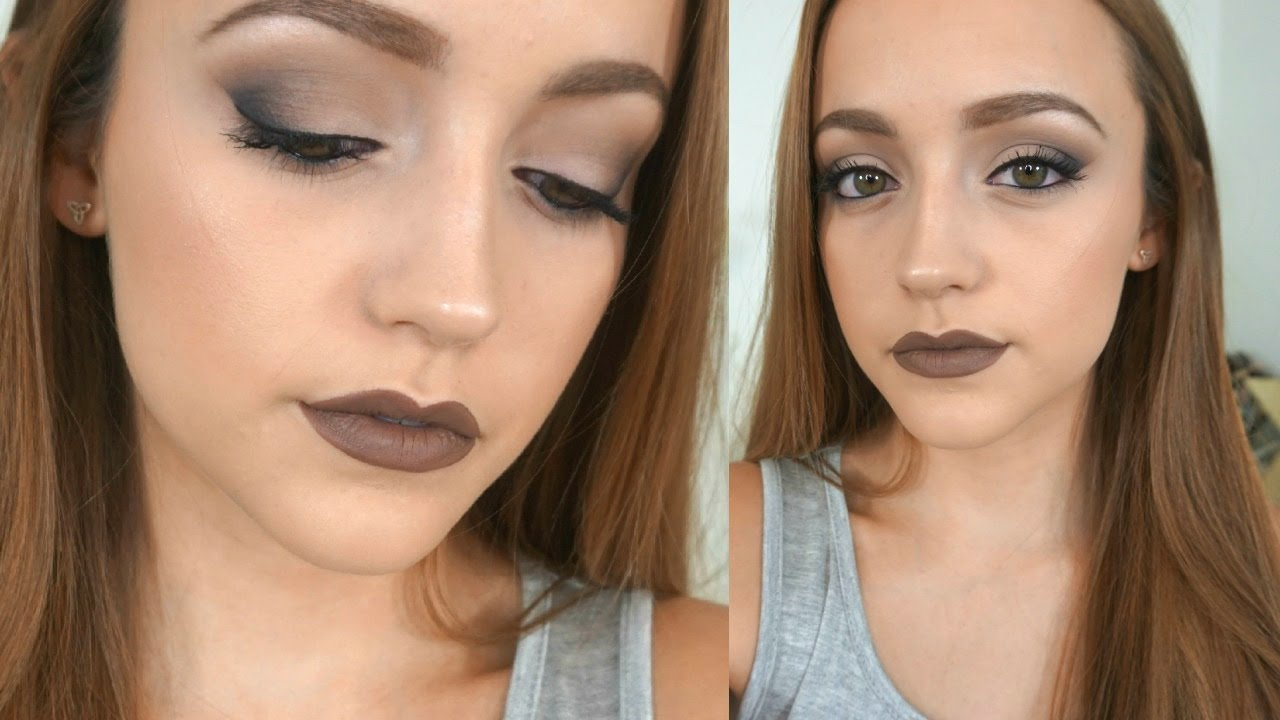 Cool Tones Makeup Tutorial Youtube