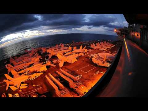 Aircraft Carrier Sounds - 1 hour! Take offs and Landings - Ambience