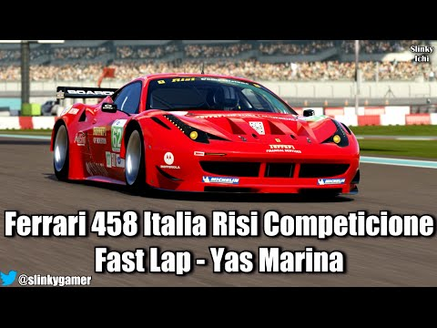 forza motorsport 5 fast lap ferrari 458 risi competicione yas marina circ. Black Bedroom Furniture Sets. Home Design Ideas