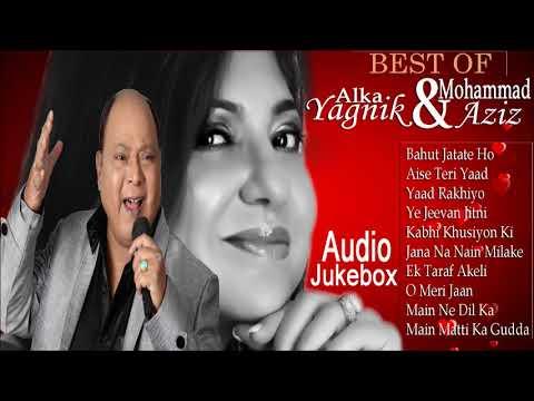 best-of-alka-yagnik-&-mohd-aziz-hits-bollywood-songs-|-best-romantic-duets-|-audio-jukebox