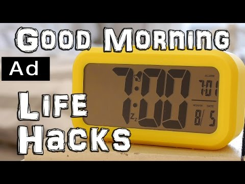 Morning Routine Life Hacks #ad