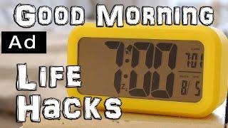 Morning Routine Life Hacks #ad