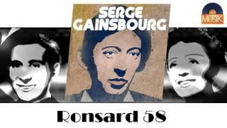 Serge Gainsbourg - Ronsard 58 (HD) Officiel Seniors Musik