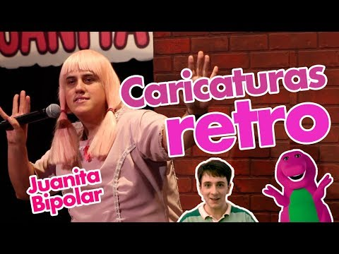 CHISTE: Caricaturas retro // Juanita Bipolar