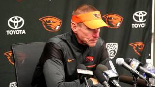 Gary Andersen likes Oregon State Beavers' second-half response in loss to Boise State
