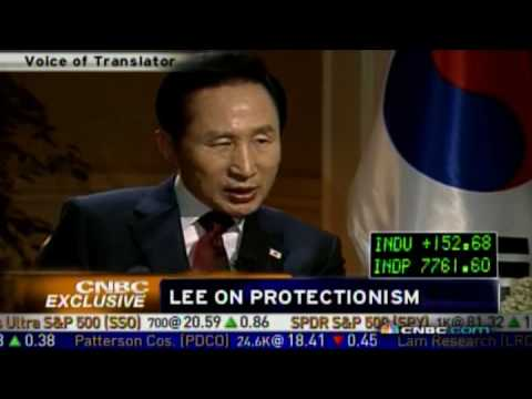 Korean President's Interview with CNBC