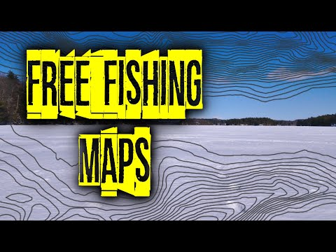 Free Fishing Maps - Find Fish On A New Lake! - Resources For Contour Maps