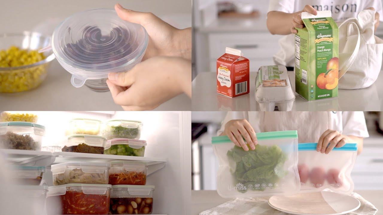 플라스틱과 일회용품사용을 줄이기 위한 첫걸음/ 제로 웨이스트/ 친환경 살림/ Use Less Plastic and Disposable/ Eco-Friendly Items