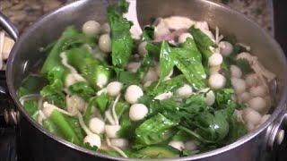 Savory Glutinous Rice Balls Soup- Tang Yuan