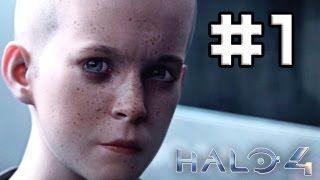 Halo 4 Walkthrough / Playthrough Part 1 -THE BEGINNING- [HD Gameplay and Commentary]