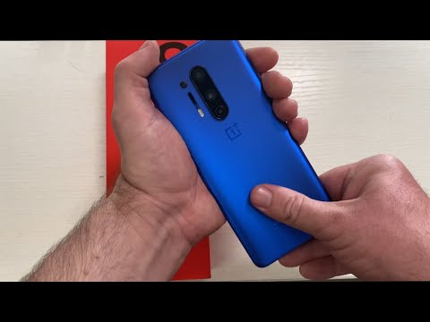 OnePlus 8 Pro Ultramarine Blue 12GB RAM 256GB Storage Unboxing First Impressions