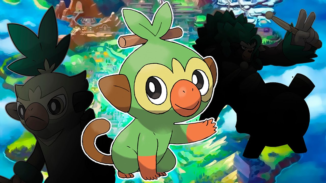 Grookey Evolution Line Leaked Rillaboom By Villiam Boom It is part of the sword & shield expansion. grookey evolution line leaked