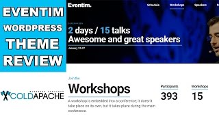 Best theme for events and seminars? eventim wordpress review