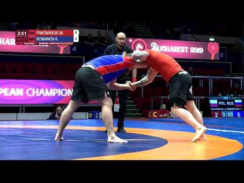 BRONZE Men's GP No-Gi - +100 kg: M. PIWOWARSKI (POL) v. A. ROMANOV (MDA)