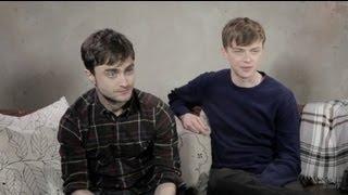 Daniel Radcliffe, Dane DeHaan on 'Kill Your Darlings': Sundance Film Festival