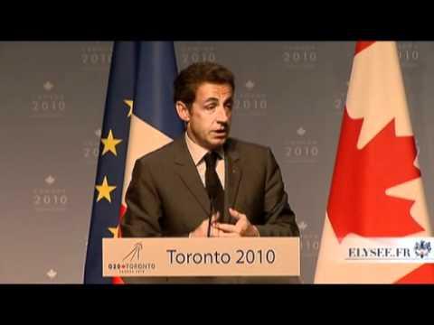 Conférence de presse à l'issue du Sommet du G20 à Toronto
