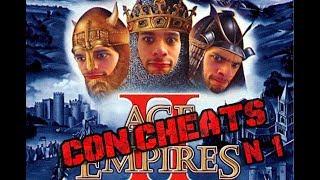 AGE OF EMPIRES II | CON Cheats!!!!!