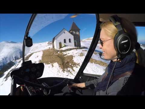 Robinson R44 Fun in the Alps