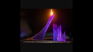 Олимпийский парк) Сочи, поющий фонтаны) 12.07.2016.