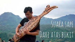 Alunan Merdu Sape di PARALAYANG BATU Musik Tradisional Dayak Kalimantan