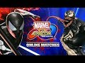 SPIDER-MAN & VENOM DUKE IT OUT: Marvel Vs. Capcom Infinite - Online Matches